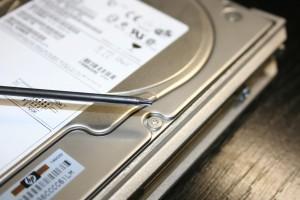 Torx csavar, merevlemez elektronika