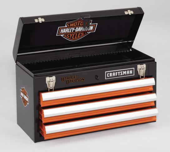 Harley Davidson szerszámos szekrény